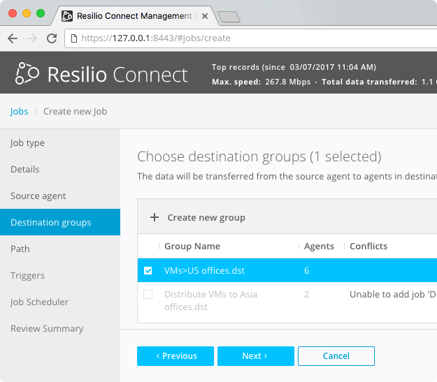 How to use Resilio Connect to distribute files