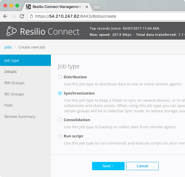 How to Synchronize Servers and Files | Resilio Connect
